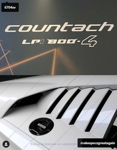 En ny Countach kommer!