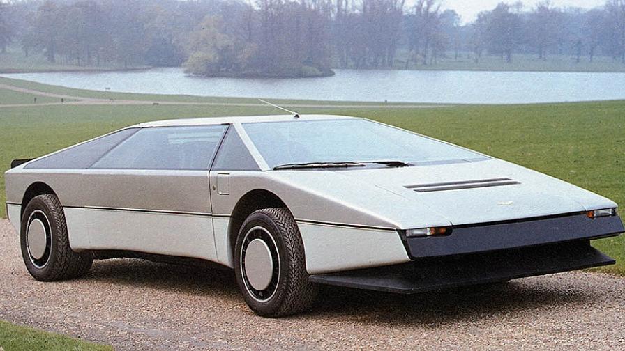 Aston Martin Bulldog ble tegnet i 1979.