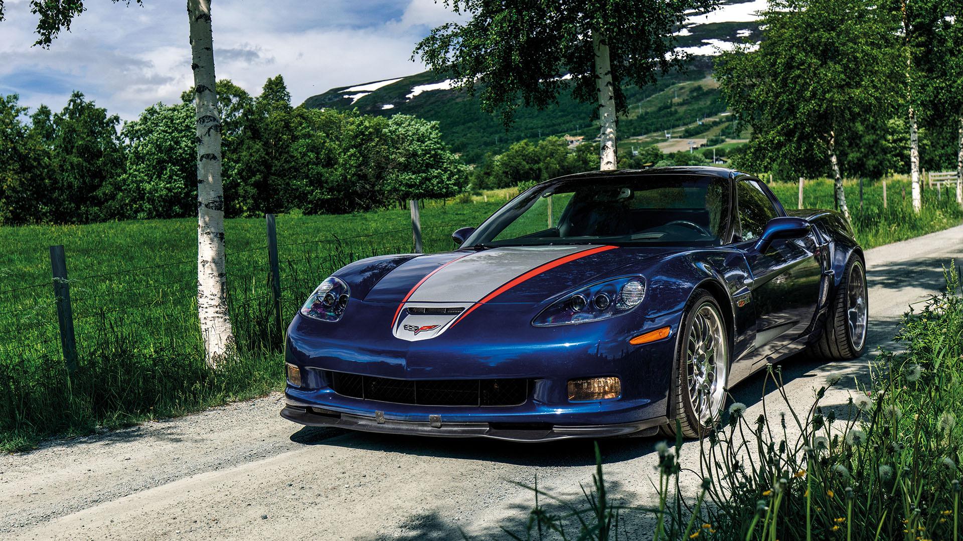 Bygderaceren - 2006 Chevrolet Corvette C6 Twin Turbo