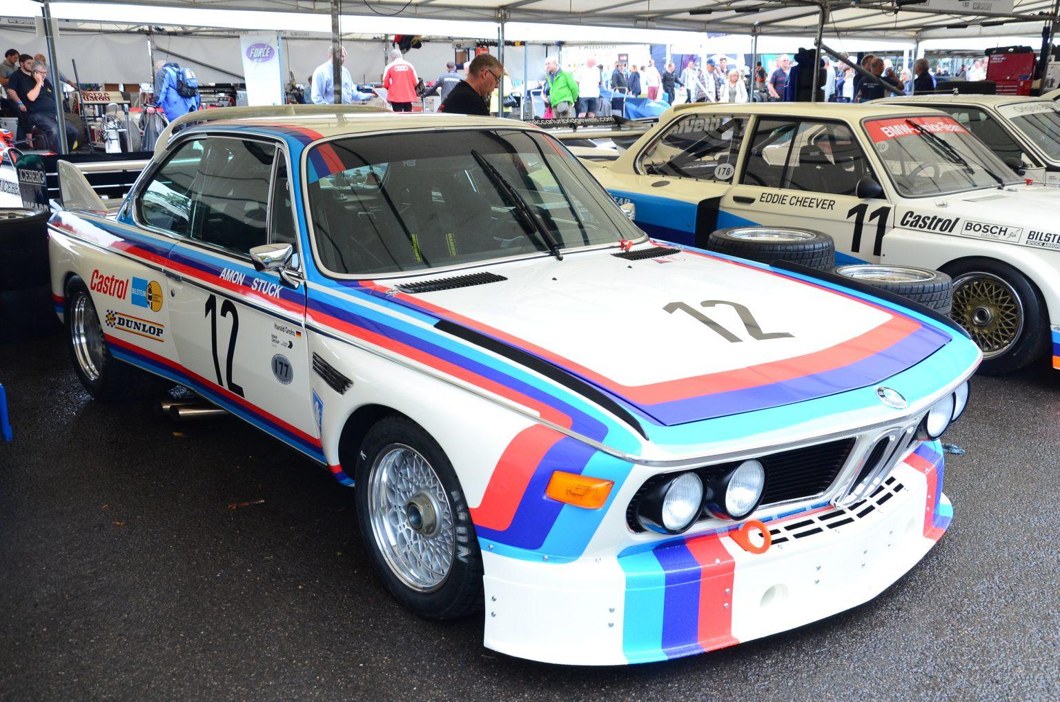 Mer BMW, her i form av en 3.0 CSL som Chris Amon og Hans Stuck kjørte i 1973. Bilde: BBS Archives