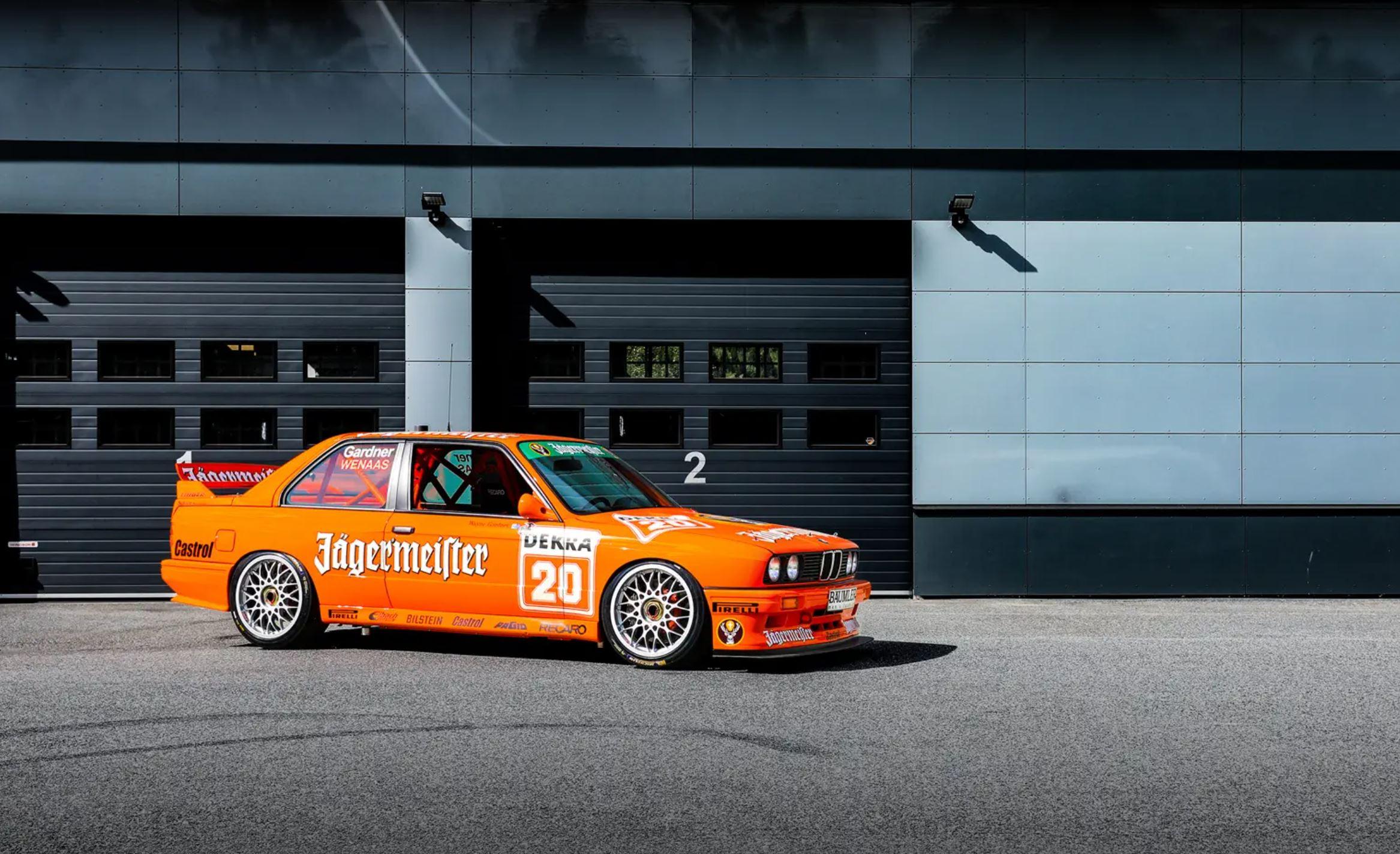 Nils Eirik Wenaas sin 1992 BMW E30 M3 DTM med BBS Magnesiumfelger som vi har laget video på.