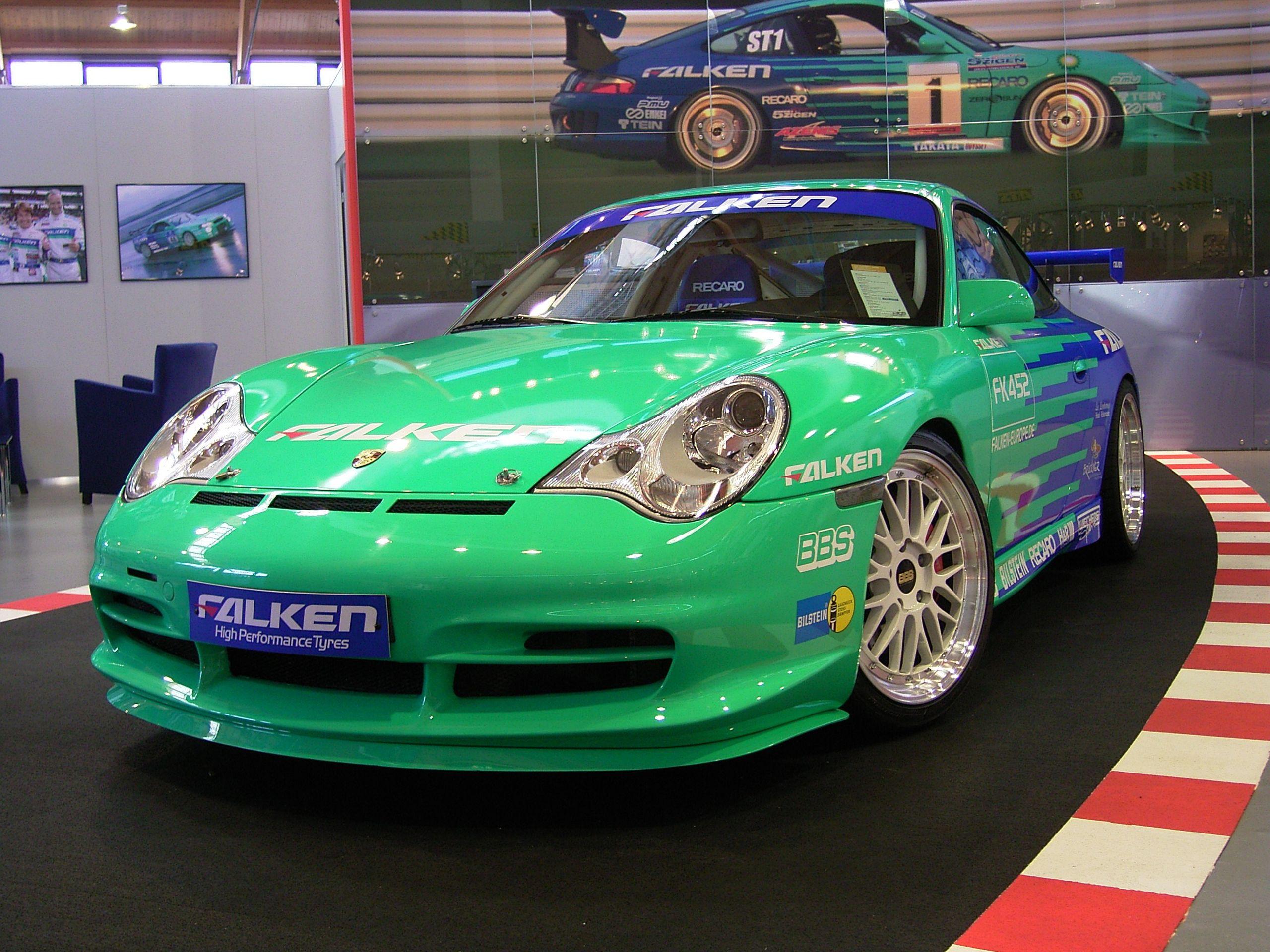 BBS ga seg ikke, og har fortsatt og produsert felger. Her avbildet på en Porsche 996.