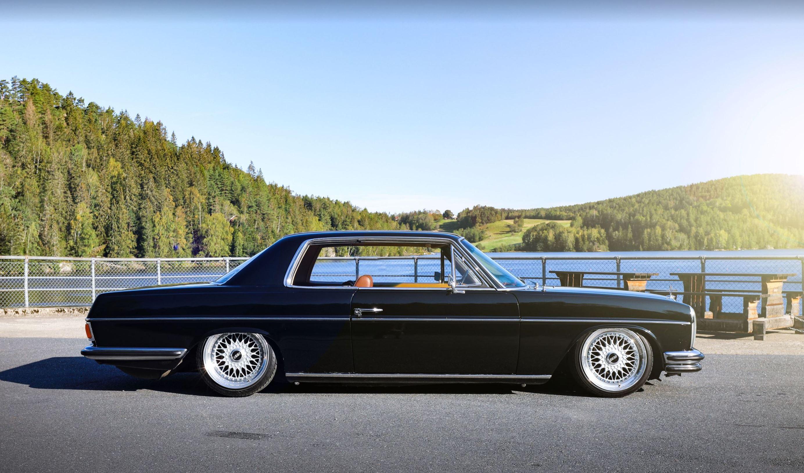 Ettermarkedet har elsket BBS-felger siden de kom for 40 år siden. Jan-Robert Staås sin 1969 Mercedes 250 C er et bevis på det!