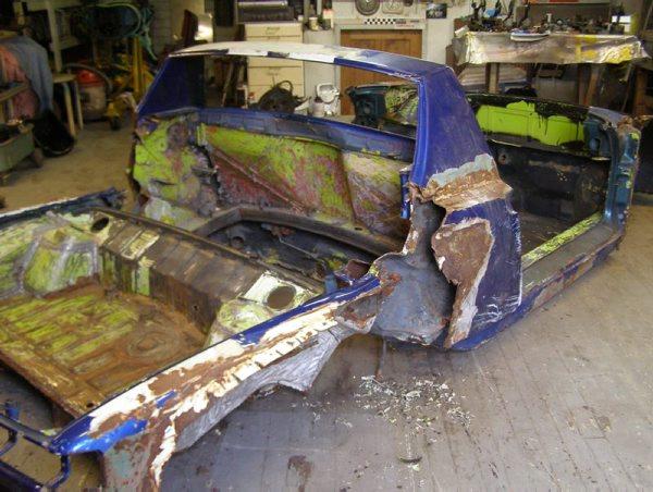 At det ble bil av dette råtne 914-chassiset er helt utrolig!
