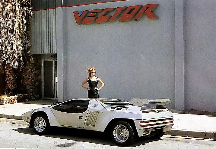 Vector W2 foran fabrikken