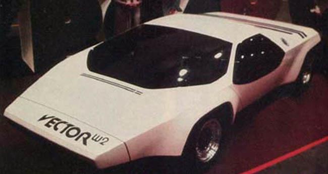 Vector W2 på LA-utstillingen i 1977