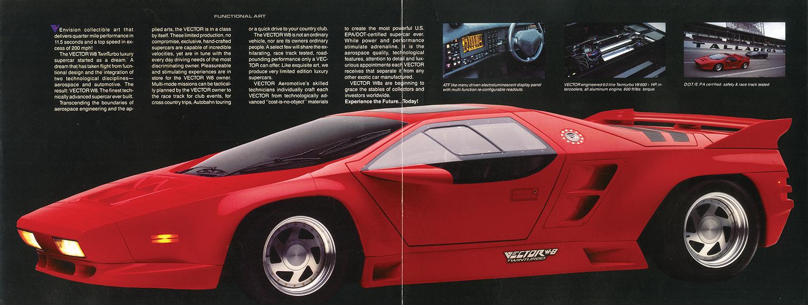 Vector W8 brosjyre
