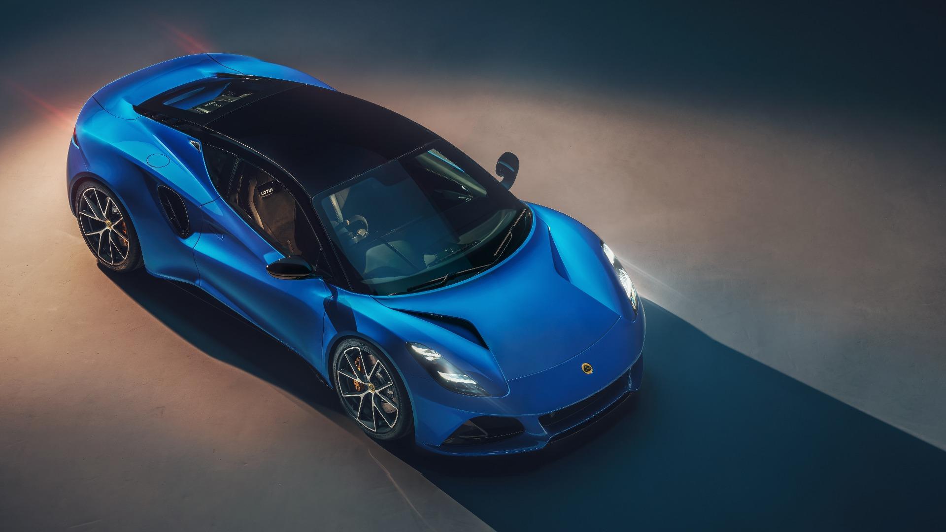 Lotus' nye modell blir den siste med forbrenningsmotor