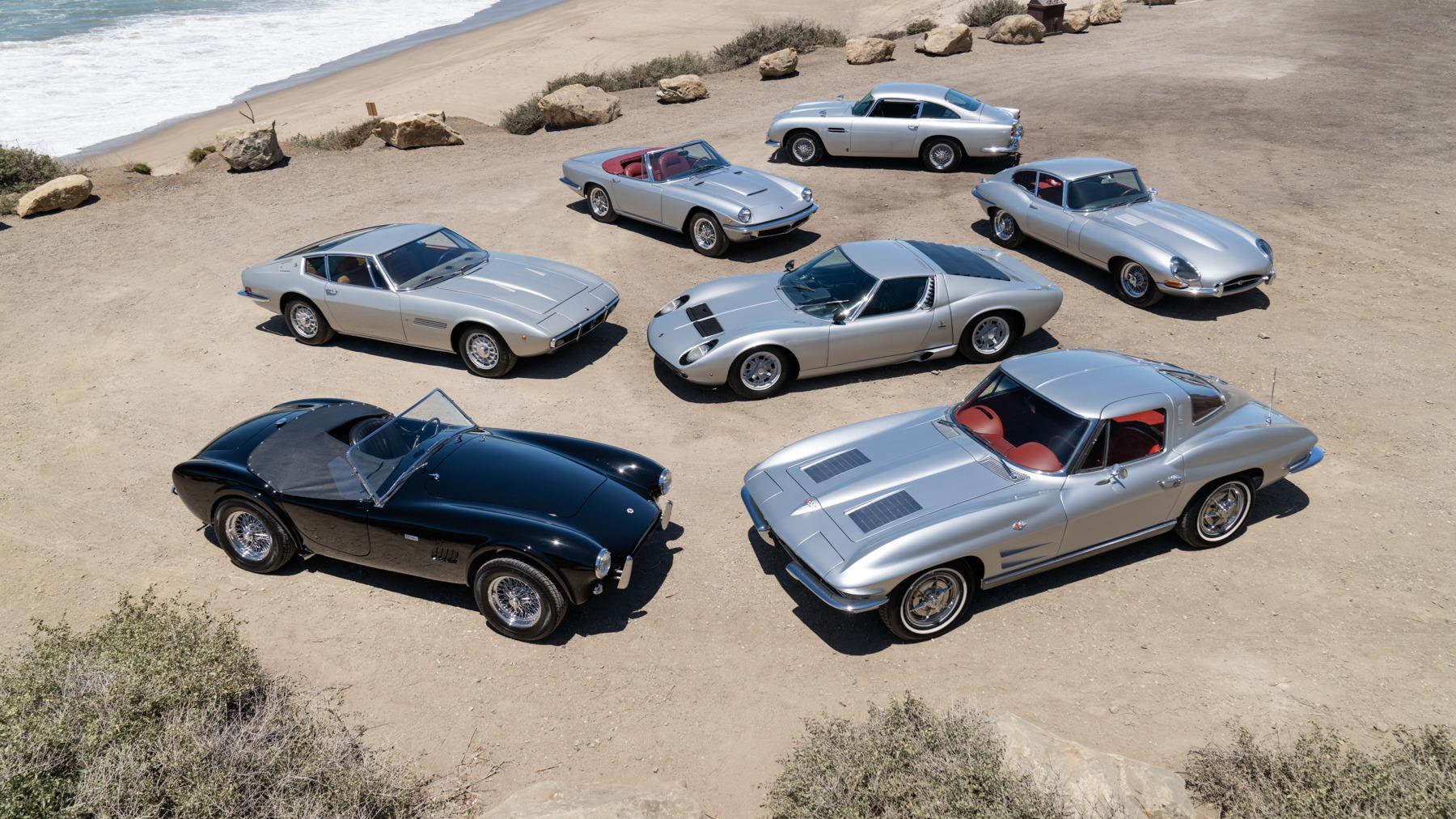 Nå går den legendariske musikerens bilsamling under hammeren