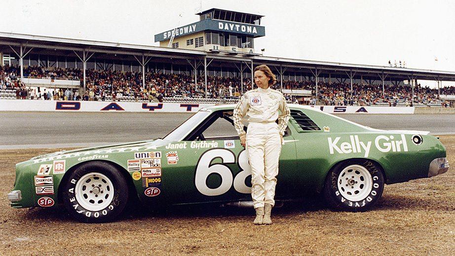 Janet Guthrie deltok i 33 NASCAR løp fra 1976 til 1978
