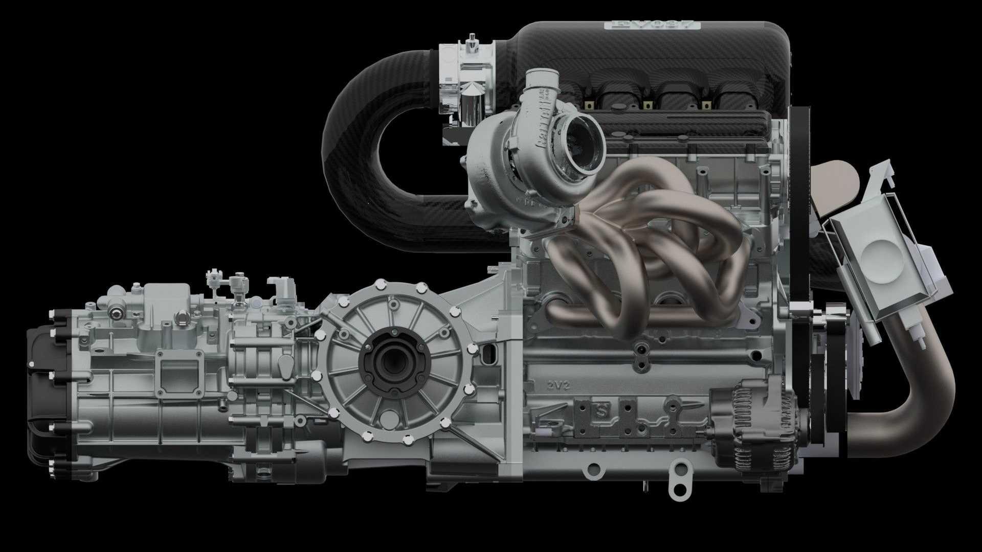 Motoren yter hele 500 hestekrefter!