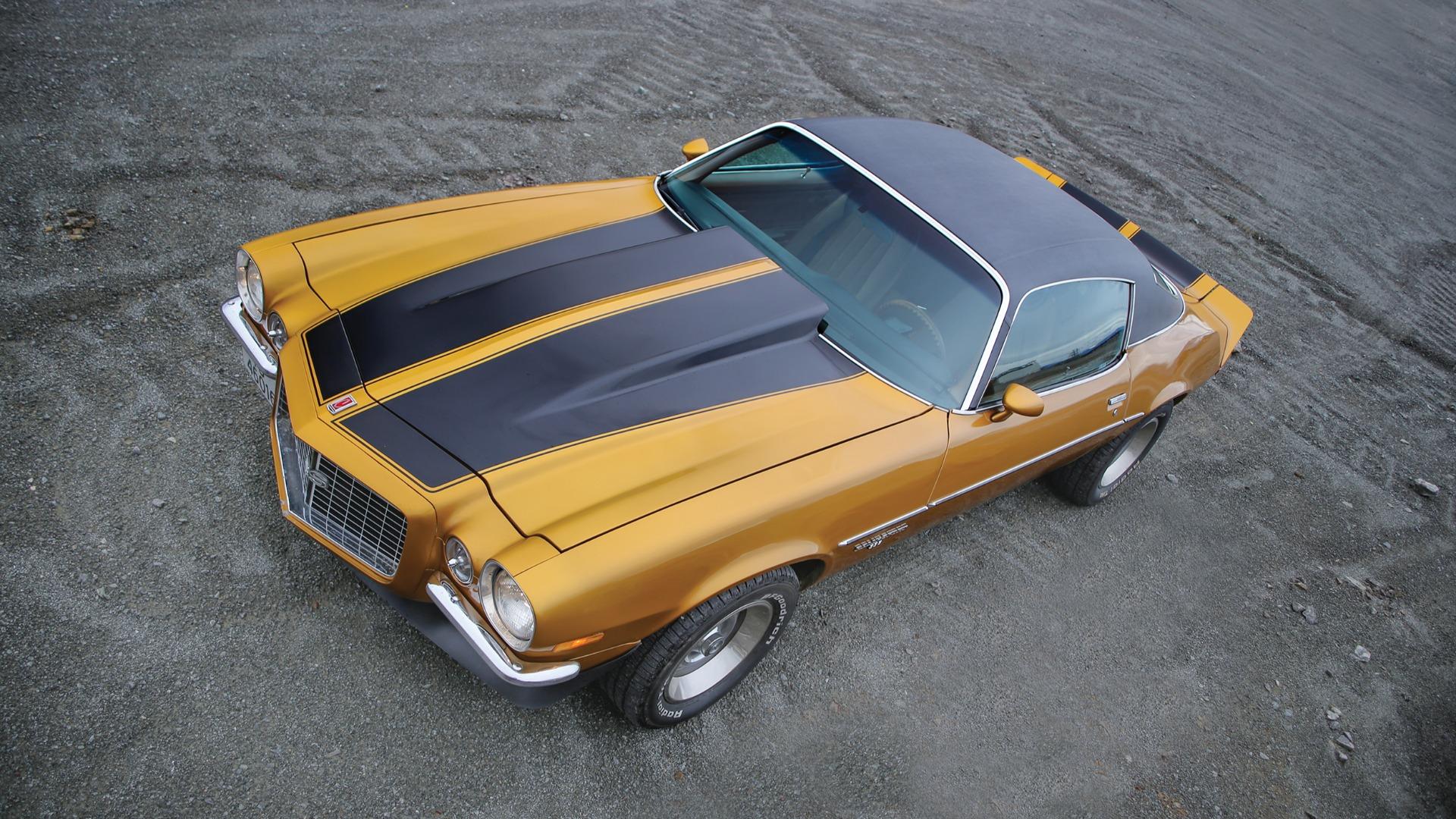 Når kobber blir til gull – 1973 Chevrolet Camaro