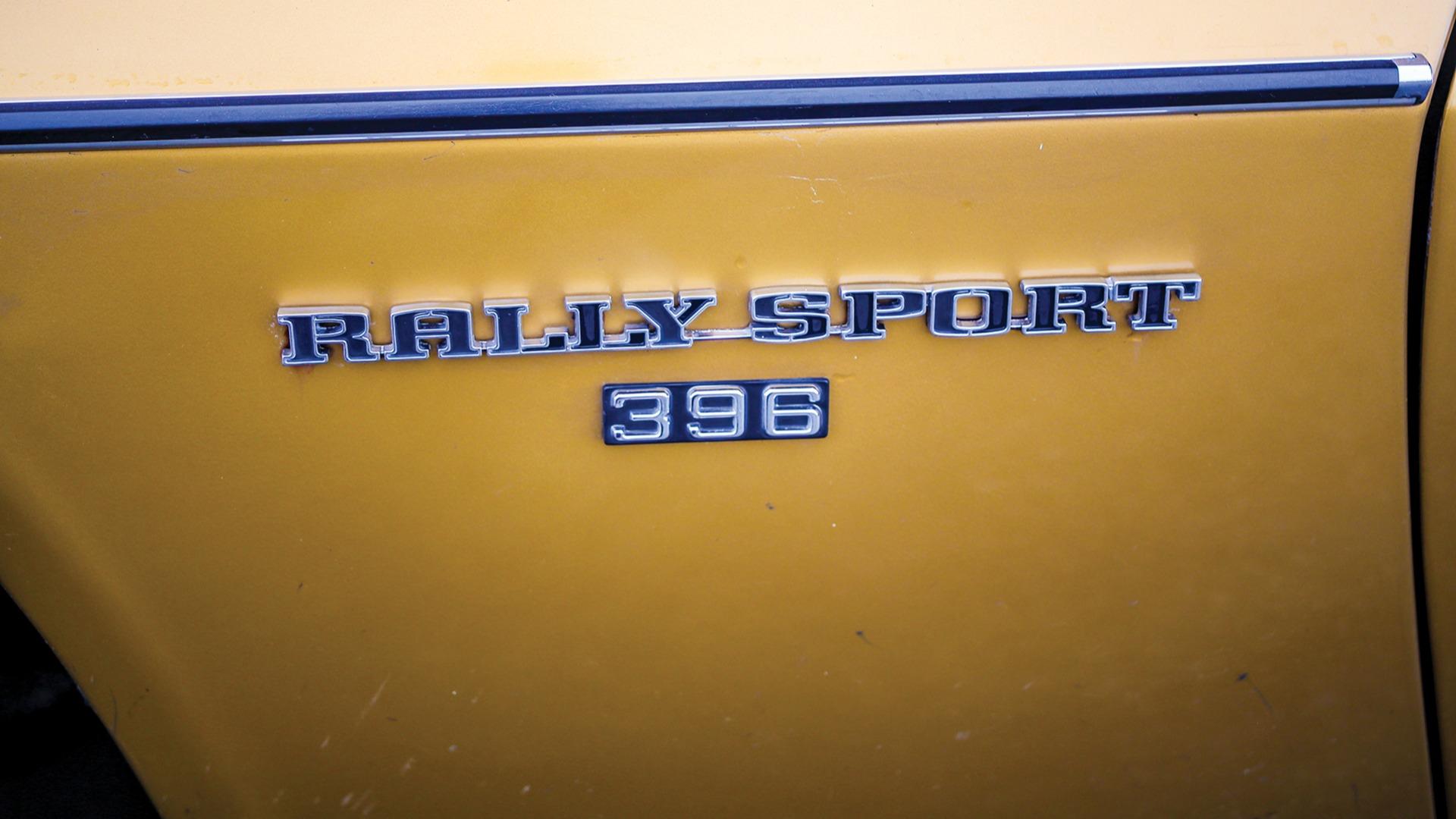 Rally Sport-emblemet er på plass.