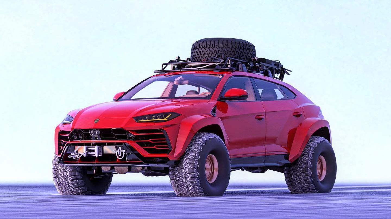 «Yay or nay» til denne Lamborghini-renderen?
