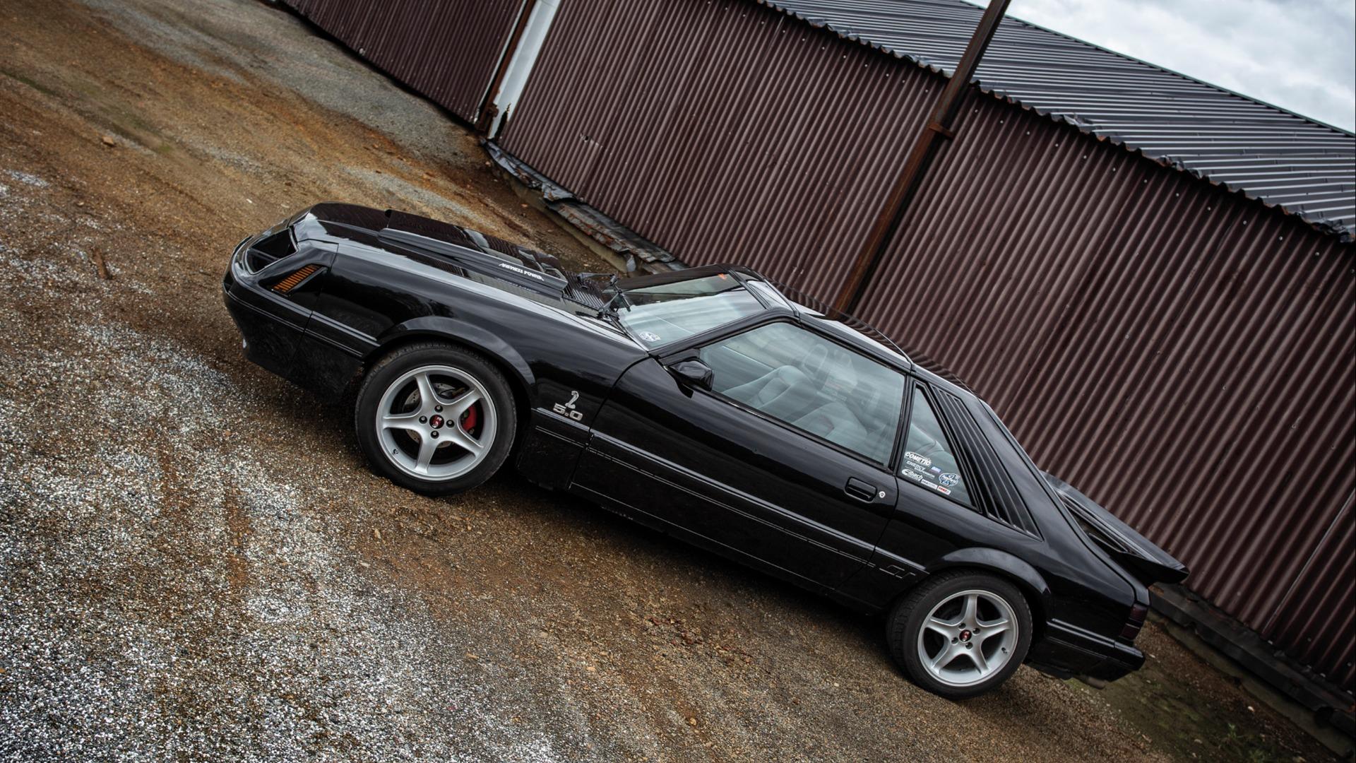 Mustang sin Fox body har helt særegne linjer