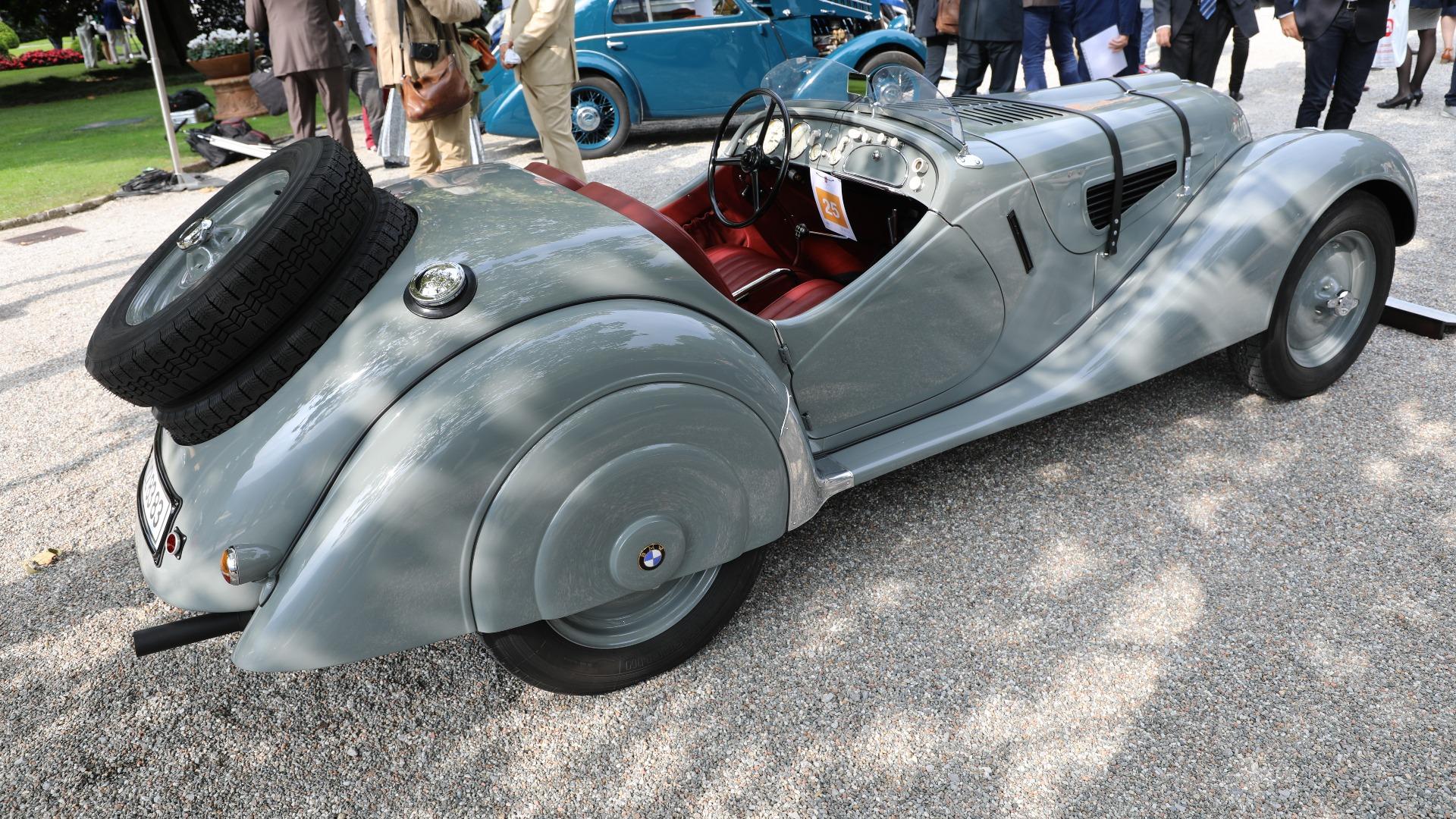 En nydelig BMW 328 fra 1938