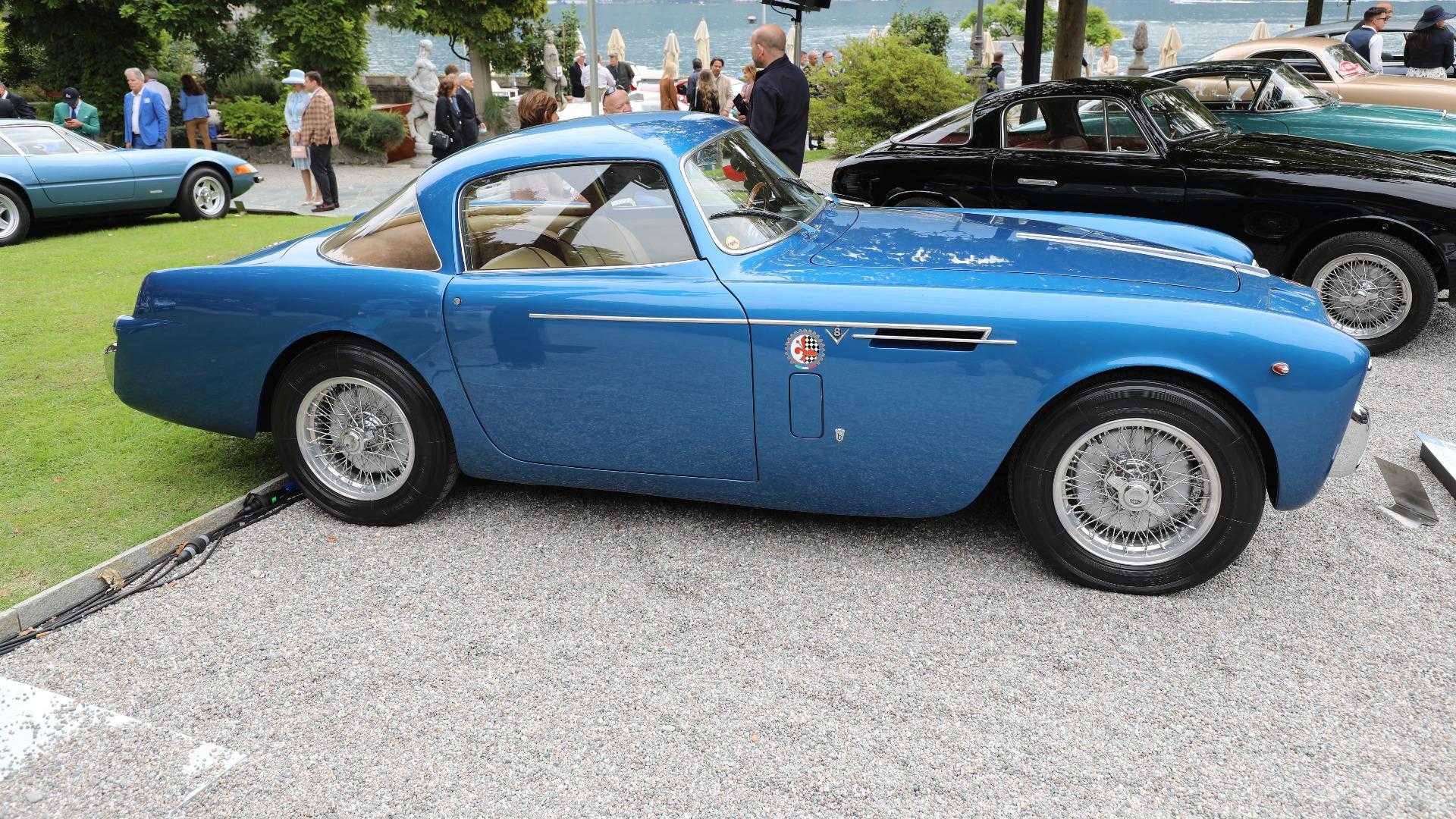 En av 50-tallets glemte skjønnheter: 1954 Siata 208 CS.