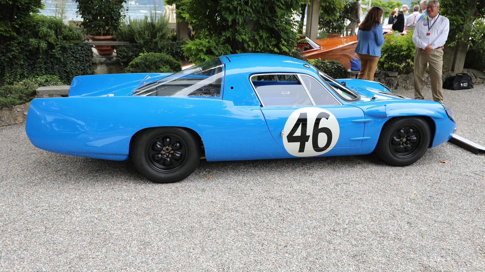 Ikke en bil man ser hver dag: 1964 Alpine M64 som vant prisen for lavest bensinforbruk under Le Mans i 1964, med kun 1,12 liter på mila. Motoren er en 1,1-liters firer.