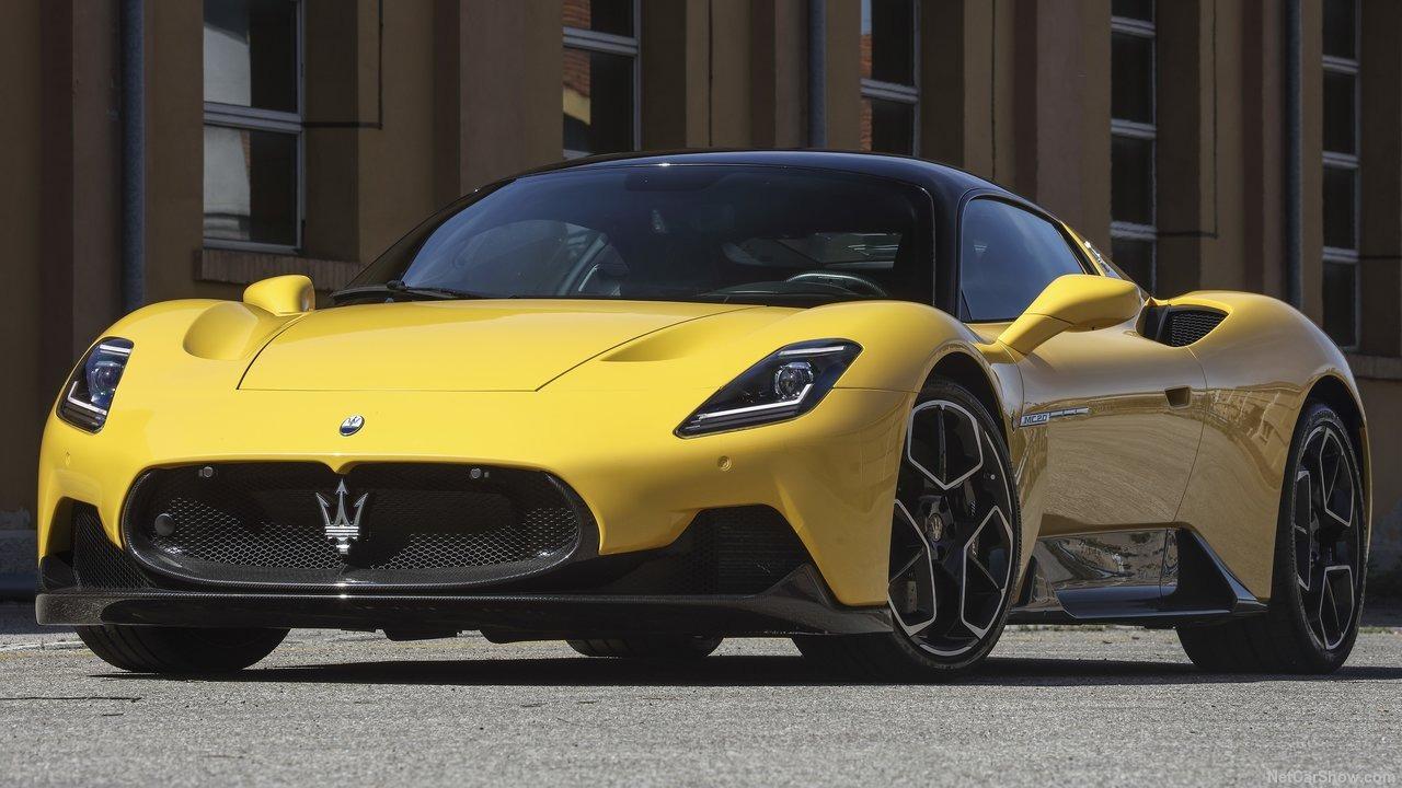 Maserati MC20 vil etterhvert komme i helelektrisk utgave.