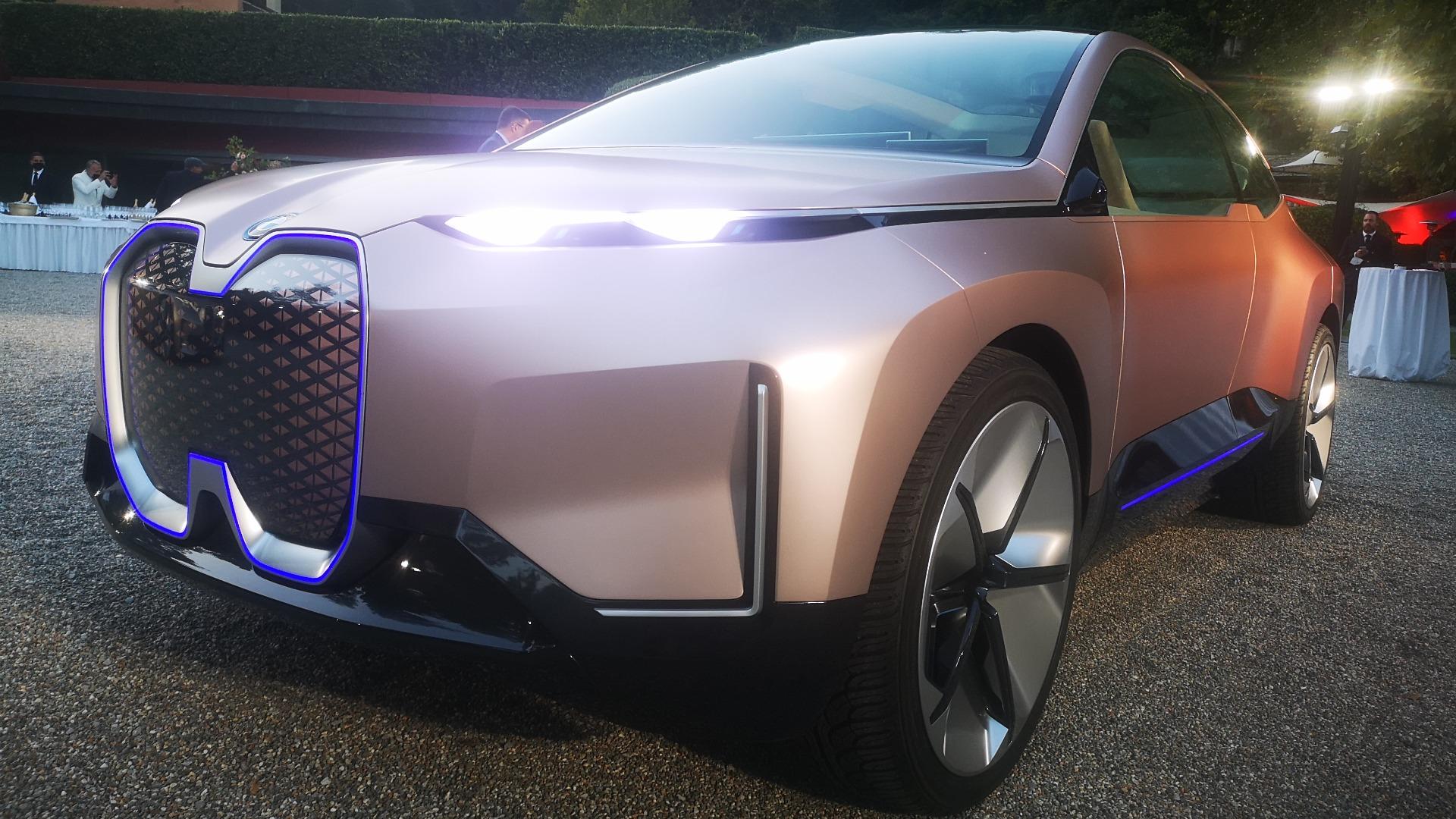 BMW hadde med seg flere av sine konsepter