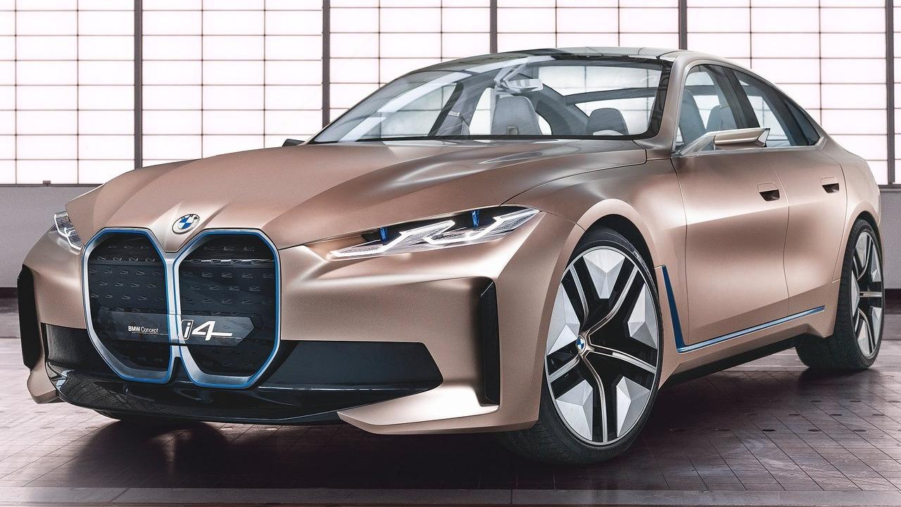 BMW i4 Concept fra 2020 er et av mange spennende konsept de siste årene fra Van Hooydonks menn