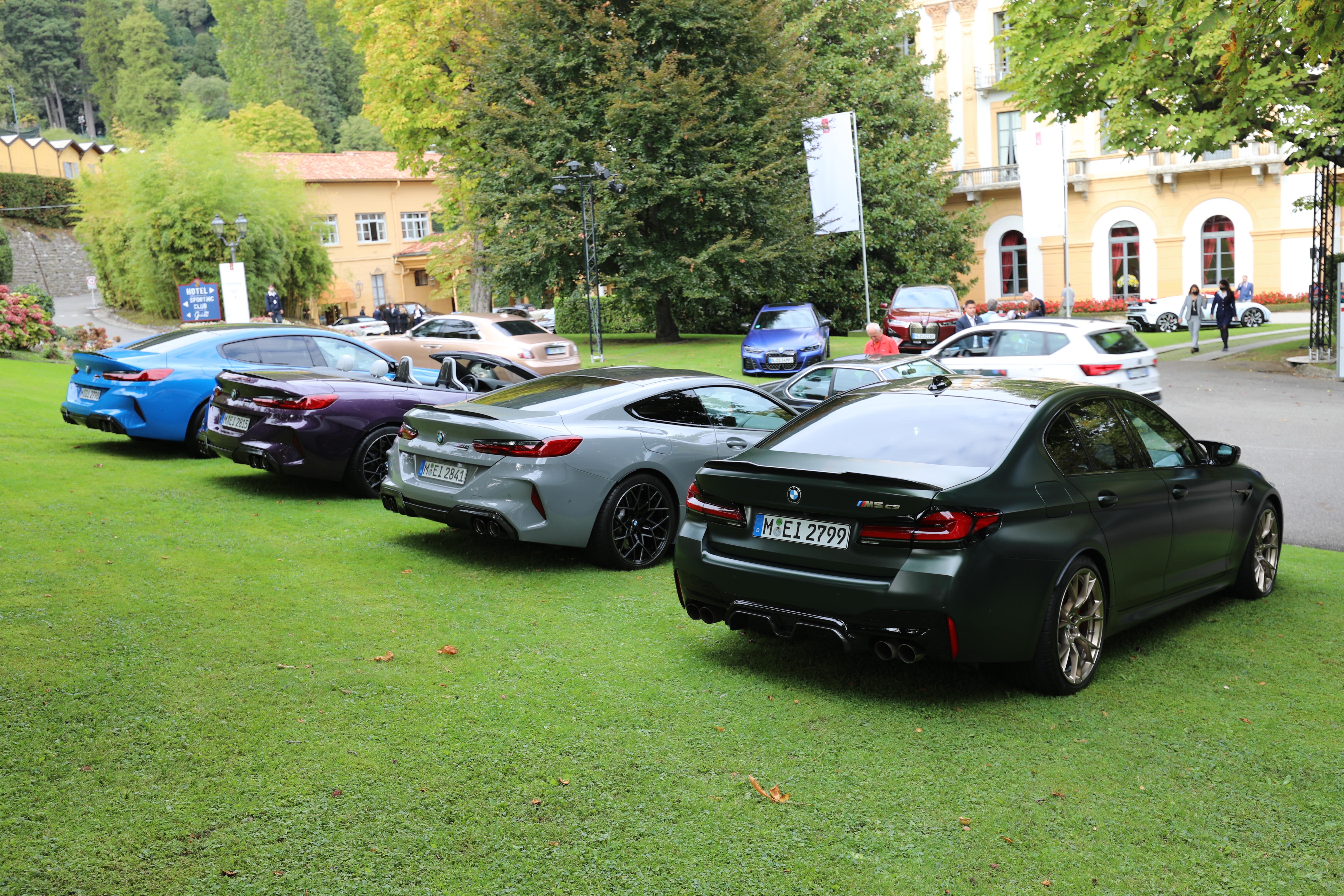BMW stilte ut flere av sine heftigste modeller på Villa D'Este