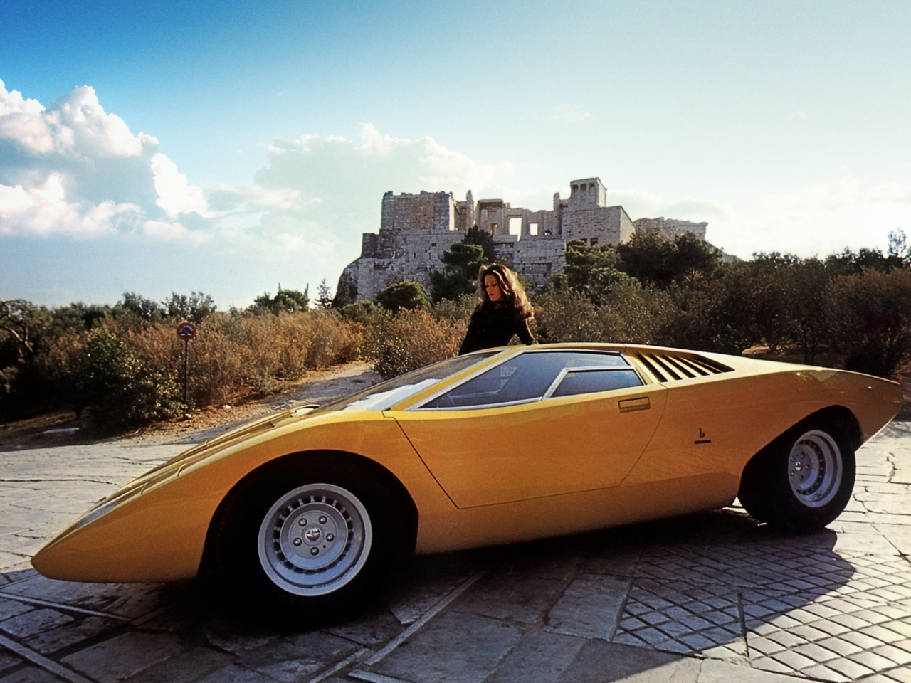 Originalbilen fotografert i 1971