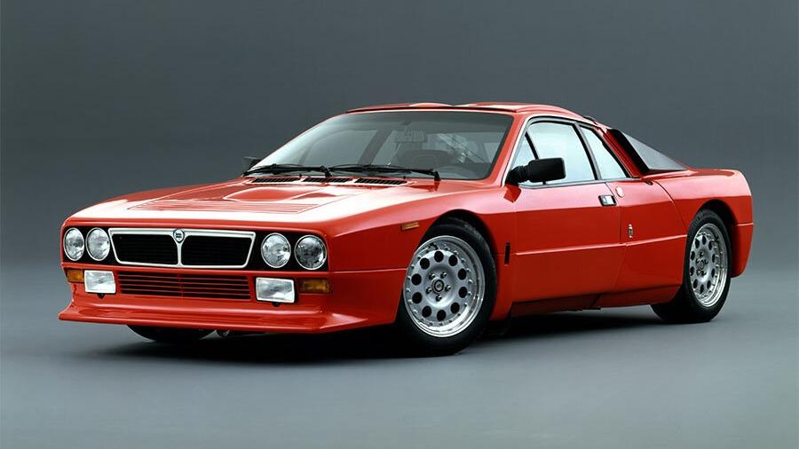 Lancia 037 Stradale (Ove og Bjarne)
