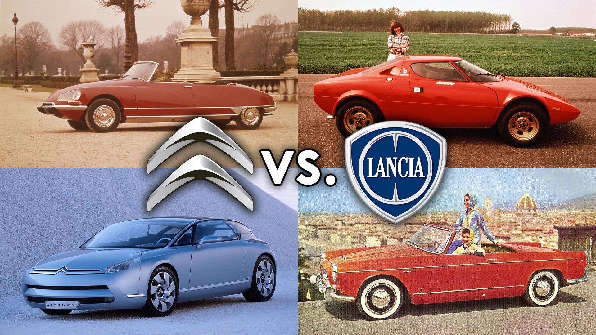 Lordens garasje ep.38 – Citroën vs. Lancia