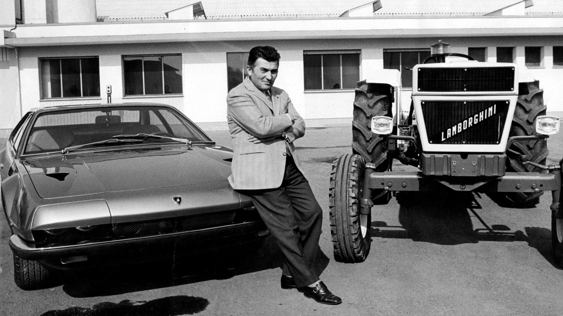 Lordens garasje ep. 40 – Da Lamborghini utfordret Ferrari