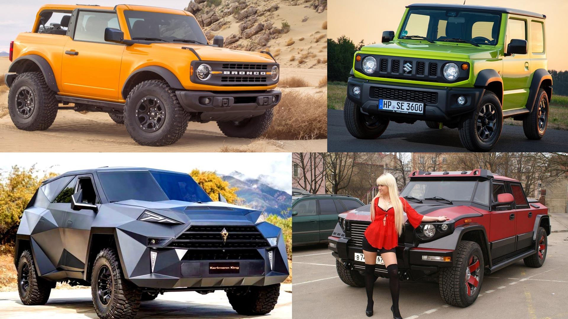 Lordens garasje ep.46 – Topp 5 SUV