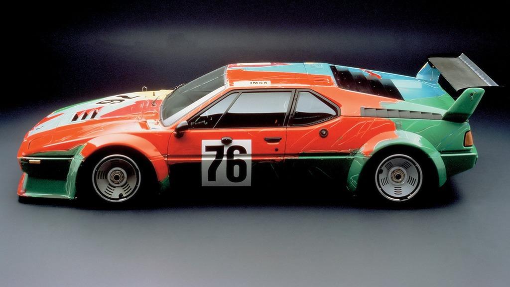 BMW M1 Art Car Andy Warhol (Lorden)
