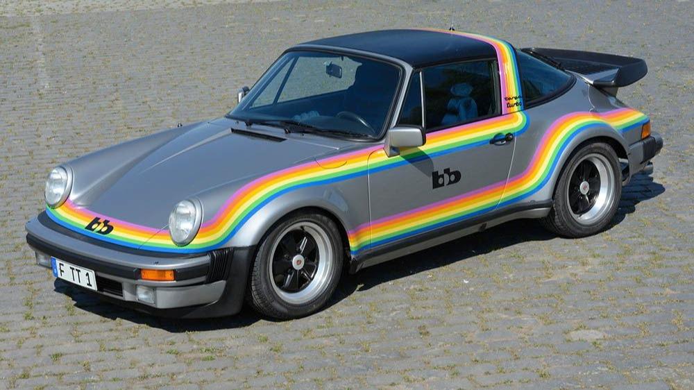bb Porsche Targa Rainbow (Lorden)