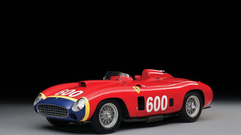 1956 Ferrari 290 MM kjørt av Fangio. Foto RM Sotheby's