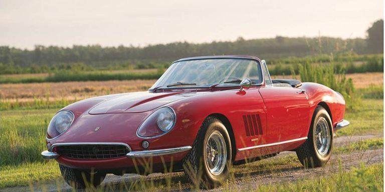 1967 Ferrari 275 GTB 4 Nart Spider Foto RM Auctions