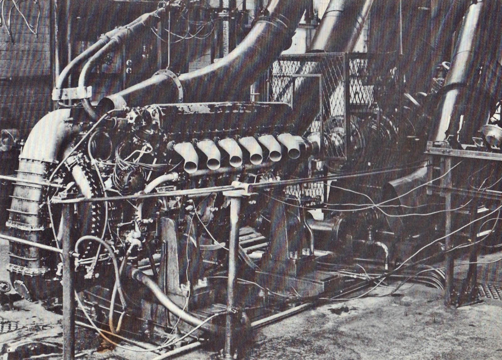 En R-motor klar for oppstart