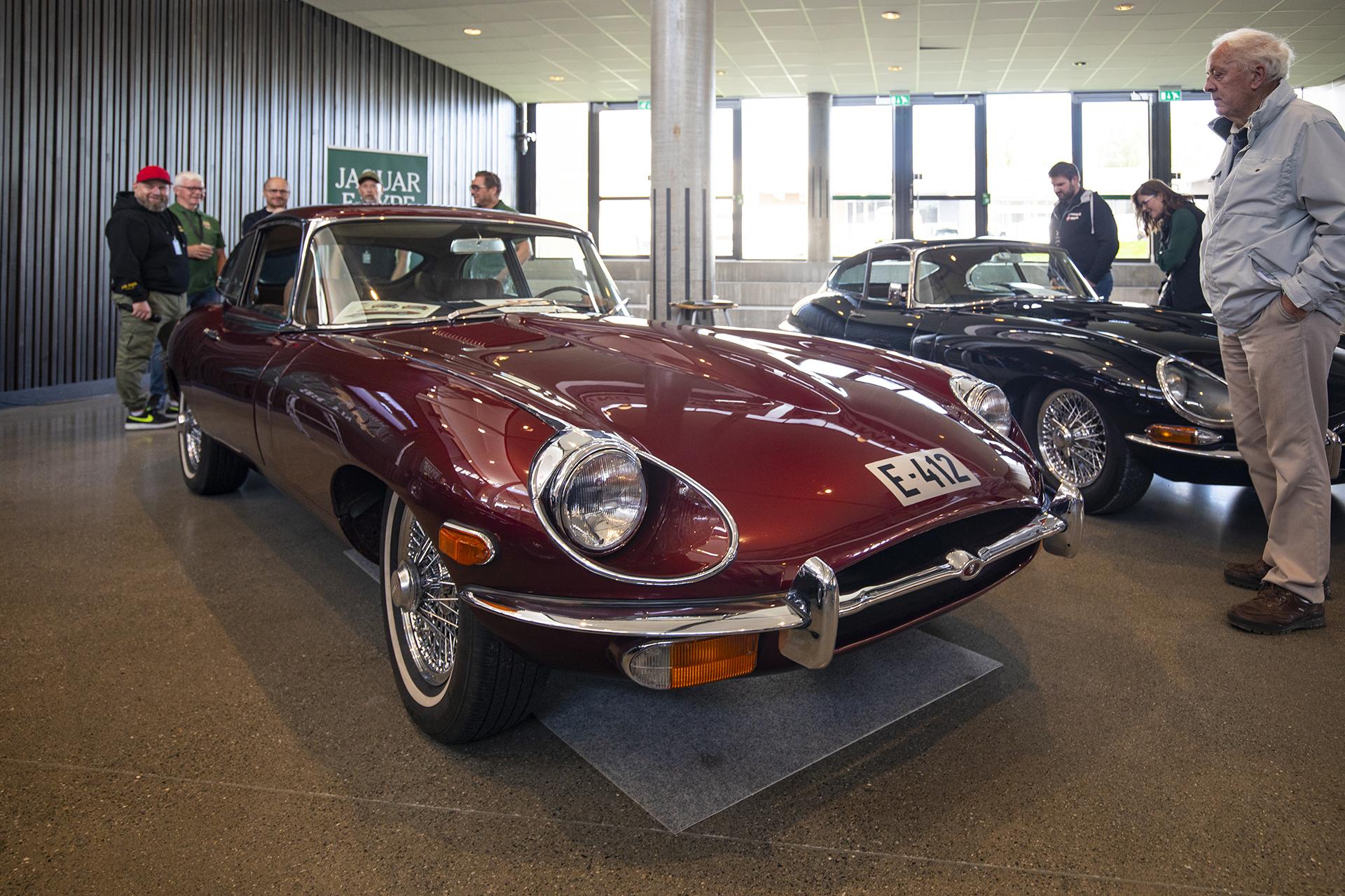 Pål Andreas Schjetne tok med seg det mange anser som tidenes fineste bil, nemlig en Jaguar E-Type.
