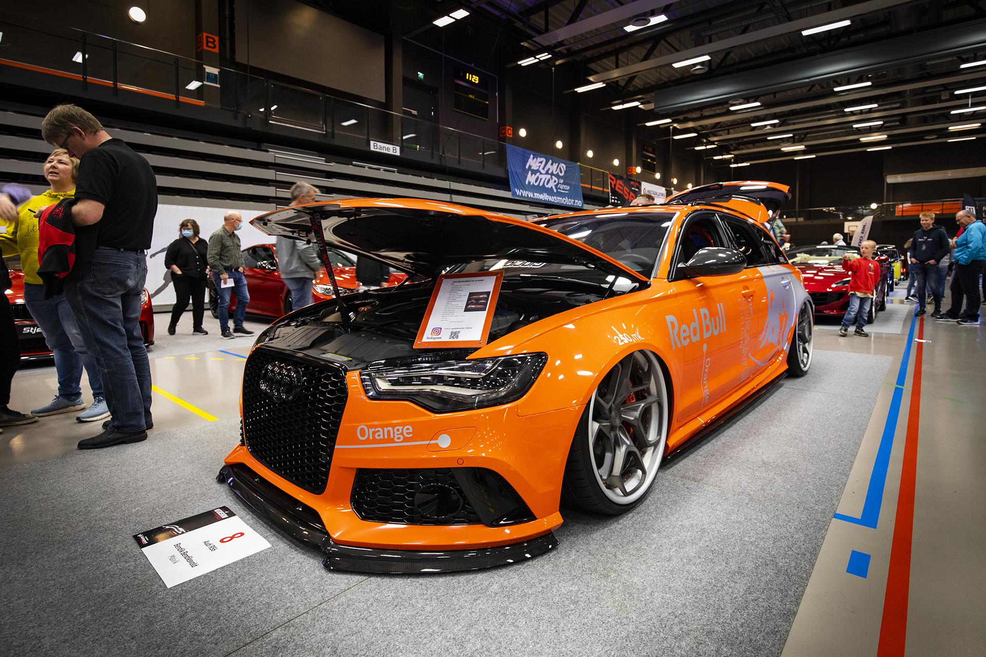 Bendik Bendiksvold har en lekker Audi RS6 med både race- og stance-stuk i en og samme bil!