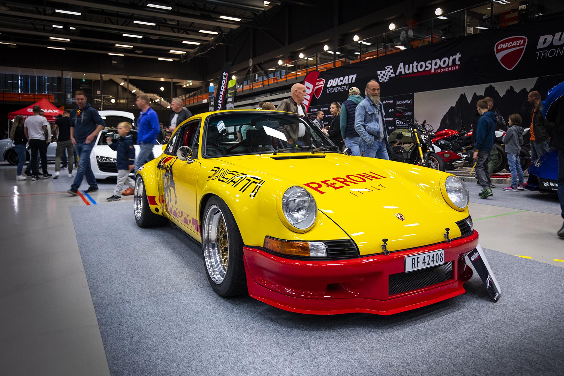 1982 Porsche 911 Carrera SC tilhørende Geir Langlo. Så kul at man skulle nesten tro vi hadde en videosak på den! (Ja, vi har det).