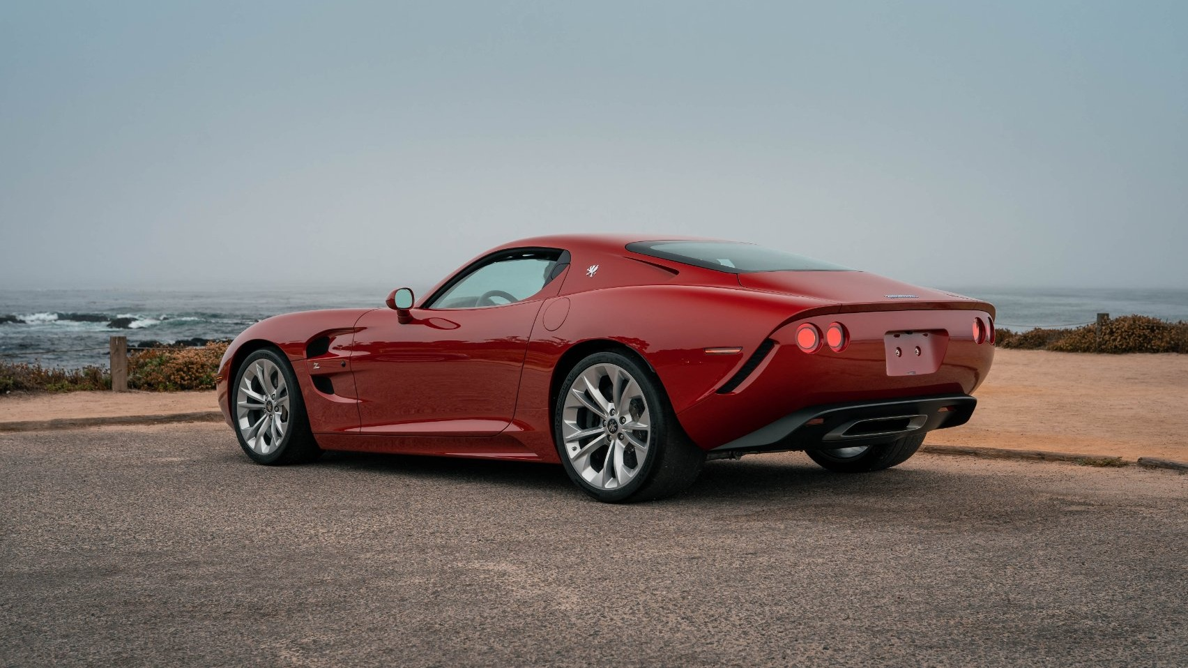 Zagato Corvette bakfra