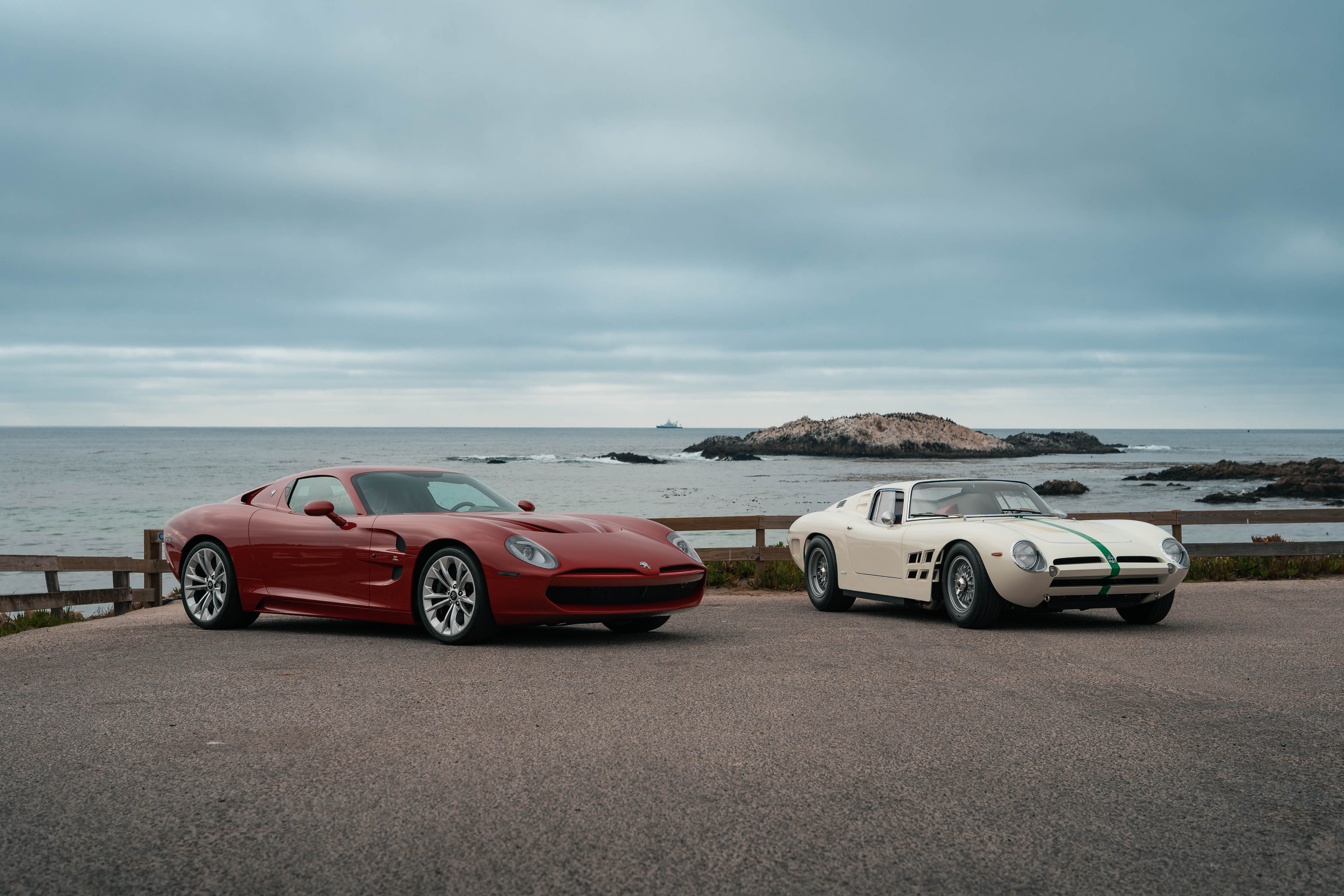 Corvetten er bygd om for å være en hyllest til ISO Grifo A3/C