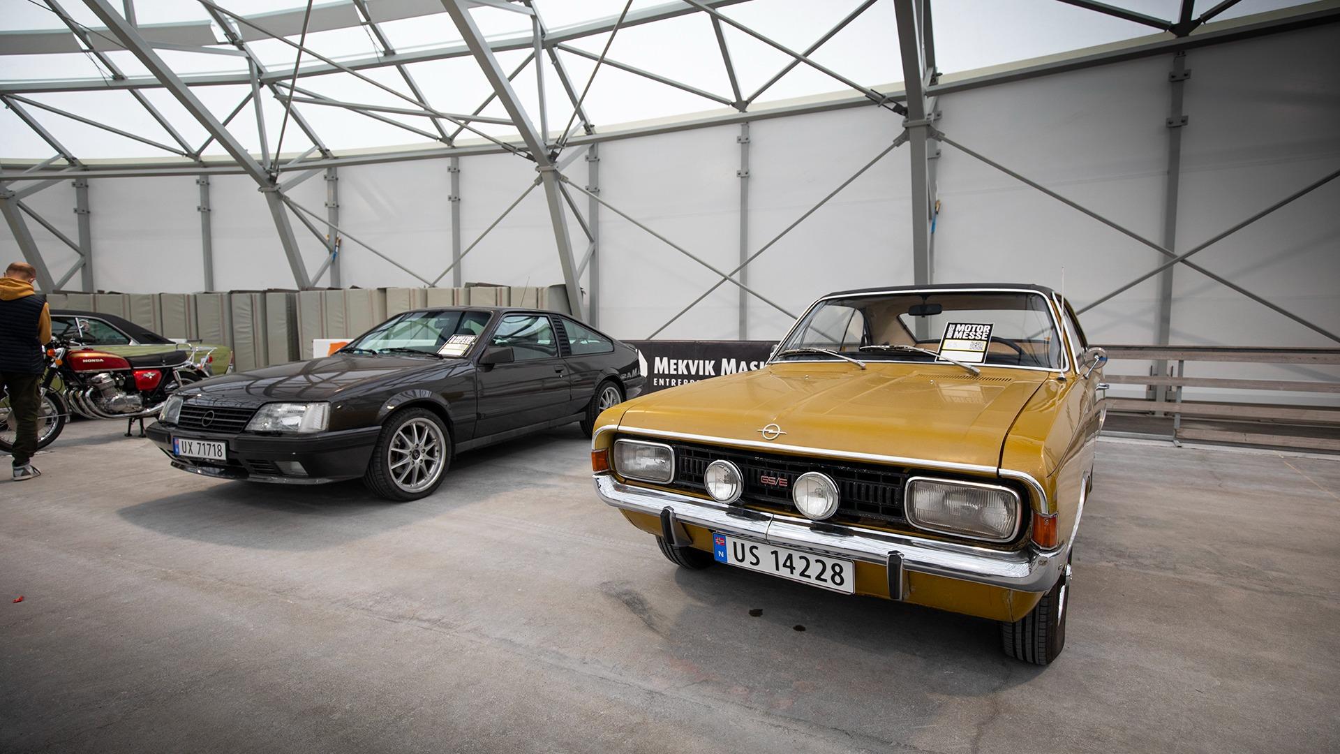 Ta GS/E og gang det med to. En Monza og en Commodore!