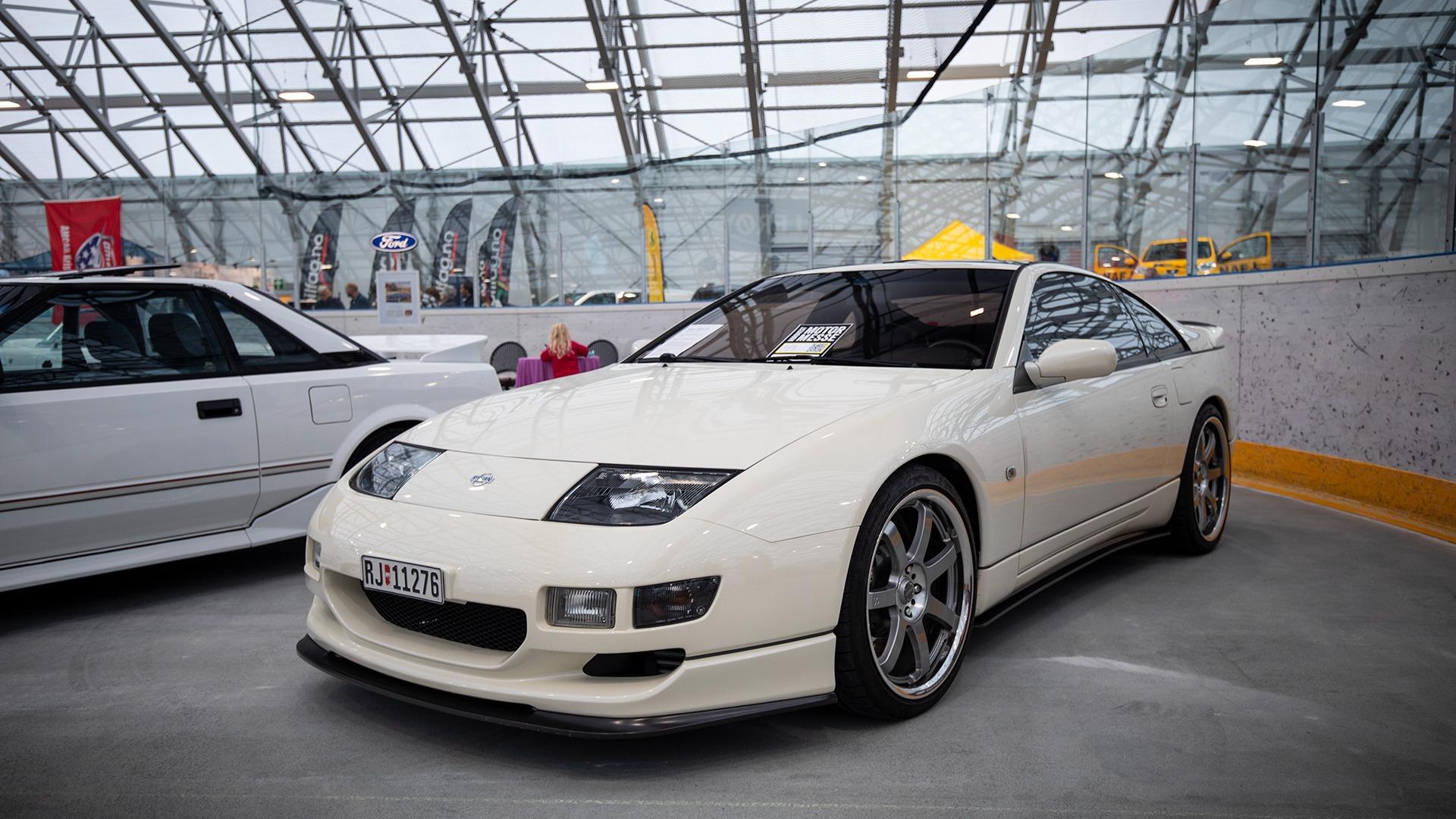 Japanske biler skulle også få plass, her representert ved en smakfull Nissan 300ZX.