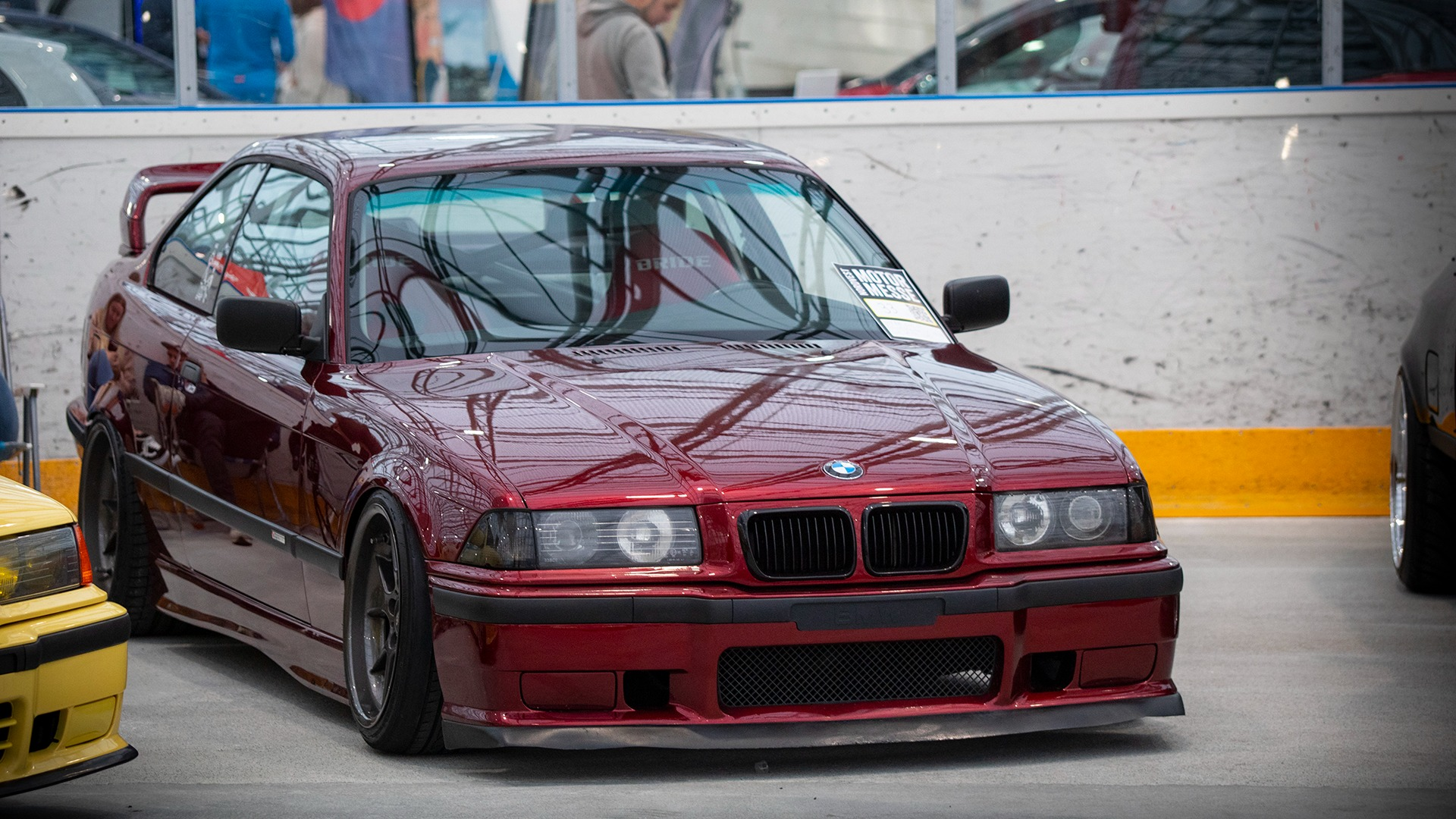 Mer grom BMW var på plass på Cars & Coffee Kristiansund sin stand, som for øvrig vant beste stand på messen.