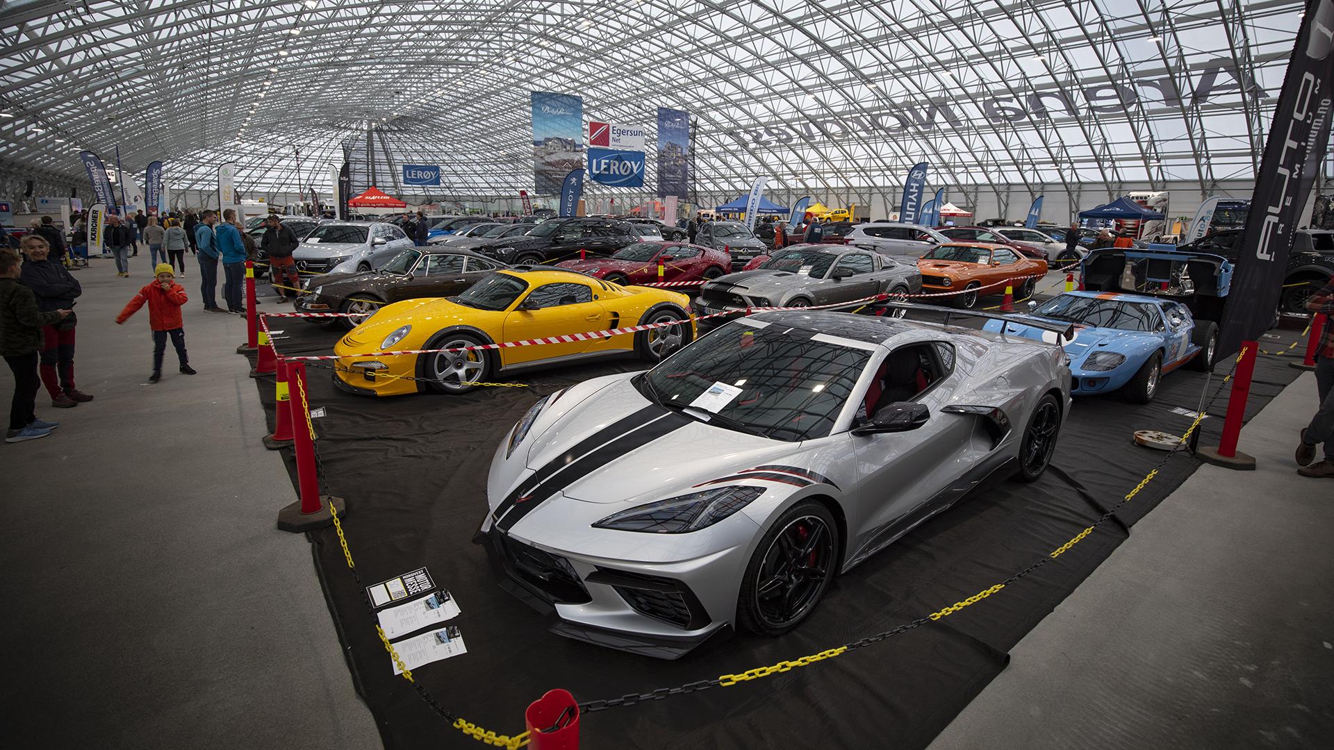 Imponerende mangfold på Nordvest Motormesse