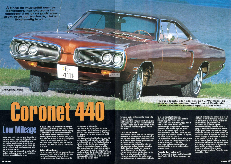 AMCAR Magazine var naturligvis tidlig på ball da bilen kom til landet. Her utklipp fra blad #5 – 2002.