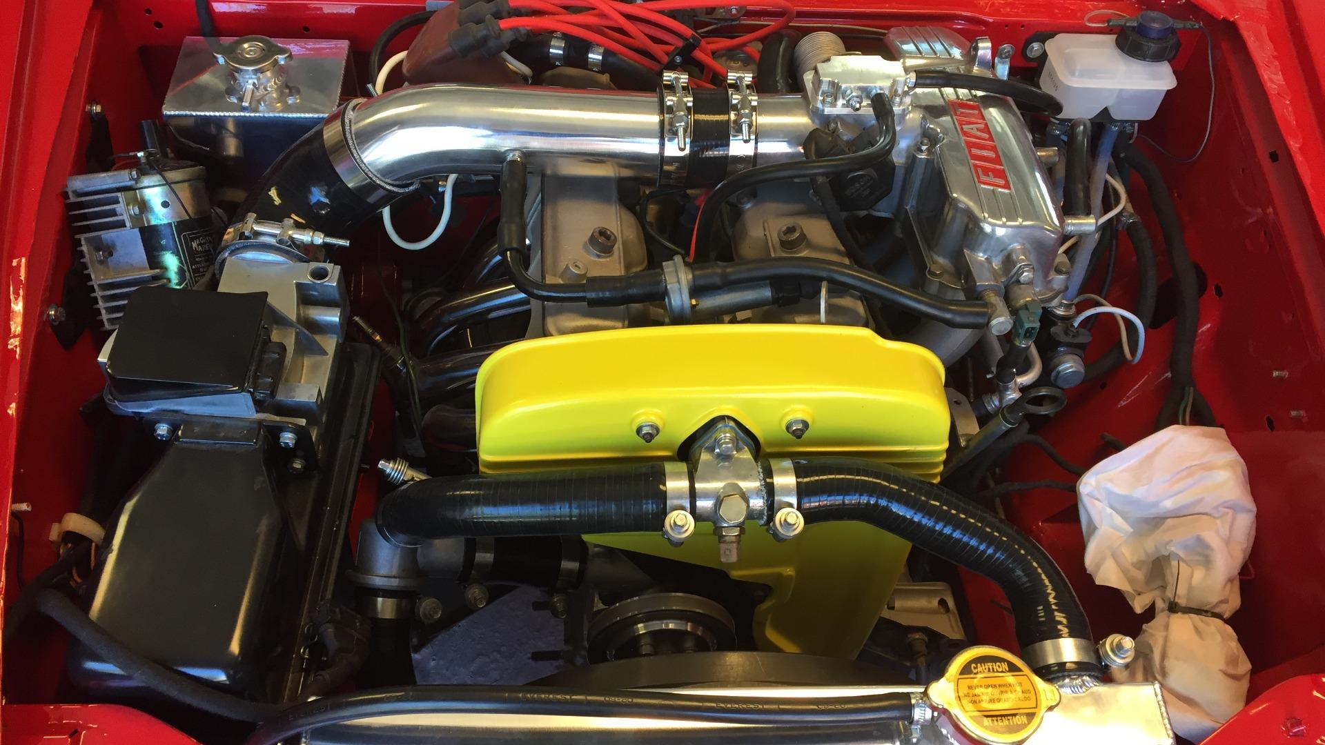 Den herlige Lampredi 2-liters motoren.