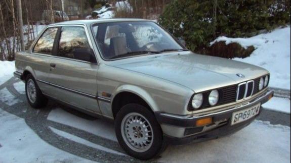 Bilen så slik ut den gangen Mons kjøpte den