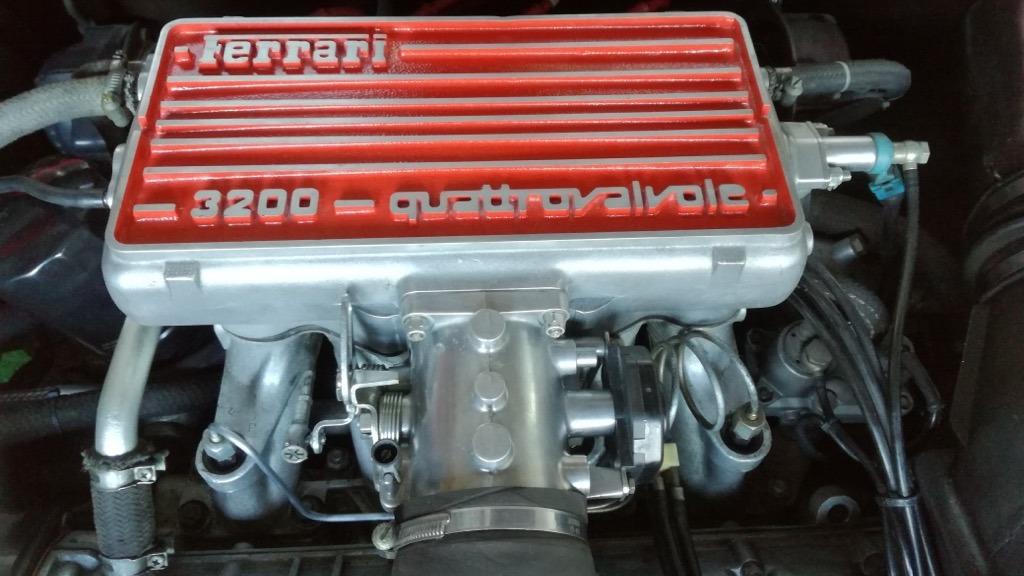 3,2 liters V8 …