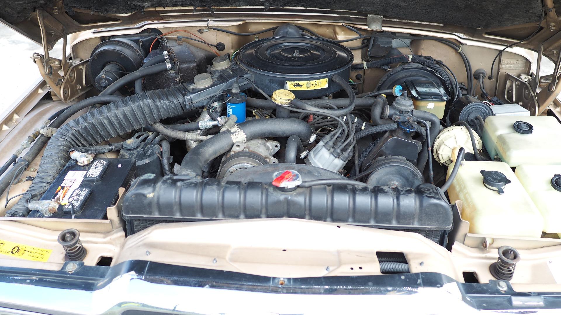 5,9 liters V8 er kjekt å ha både på langtur og når noe tungt skal trekkes på kroken